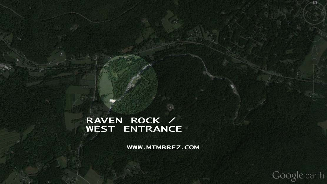 south entrance of raven rock