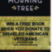 Win a Copy of The Morning Tree When You Donate to Disabled American Veterans